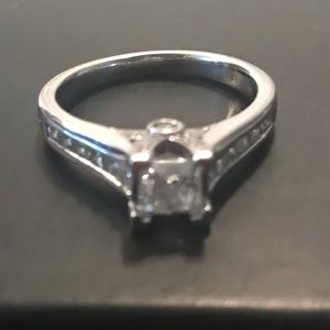 Jewelry - Diamond Princess Cut Engagement Ring